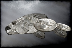 Coin Fish. Created by Ross Cochrane.